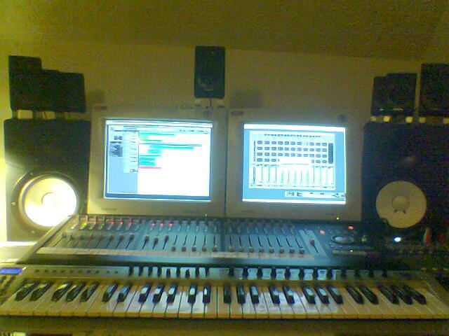 Home studio config Pic066